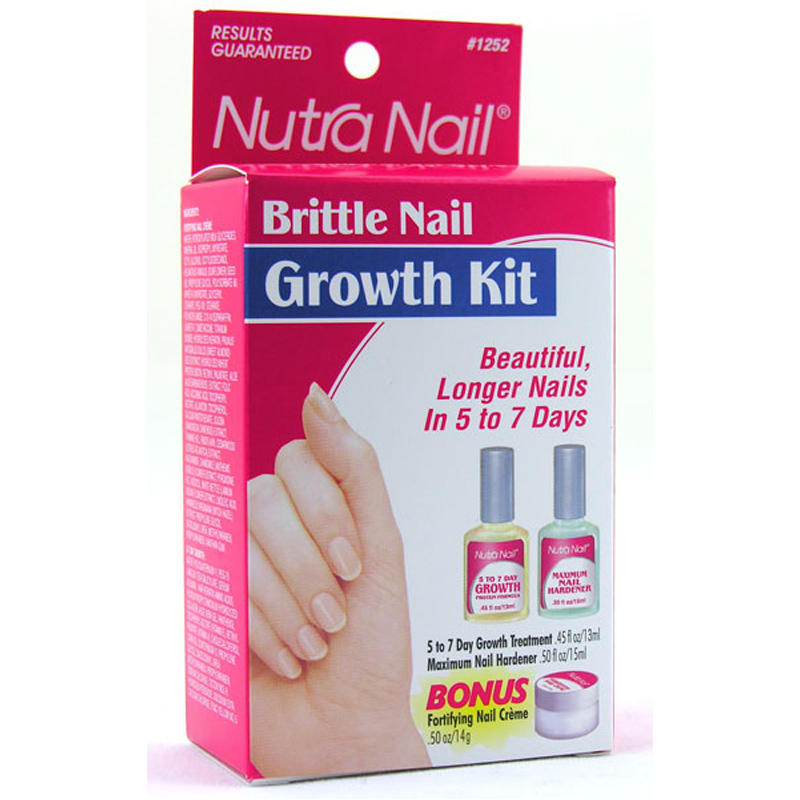 Nutra Nail Growth Kit For Brittle Nails Ebay