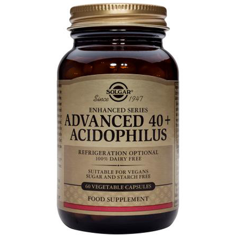 solgar advanced 40 plus acidophilus vegicaps ebay. Black Bedroom Furniture Sets. Home Design Ideas